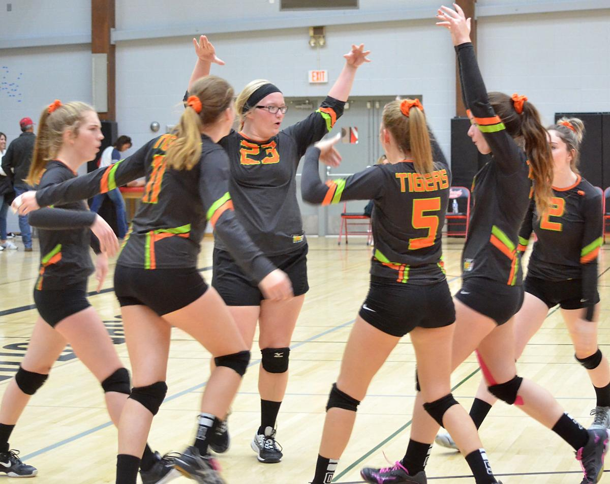 Dayville/Monument Tigers volleyball