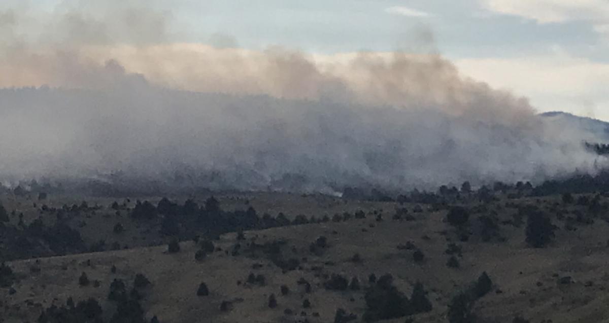 Dixie Creek fire