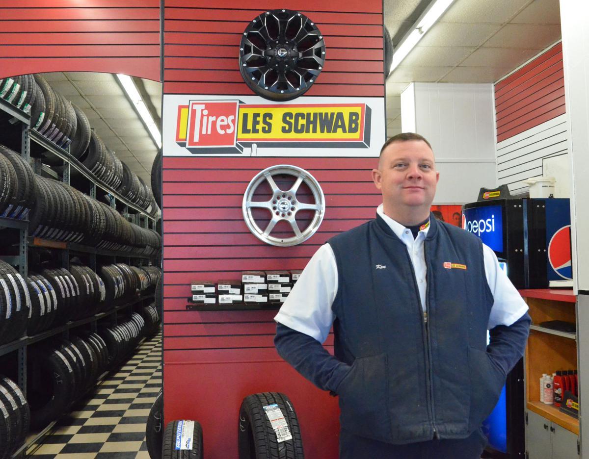 John Day Les Schwab store