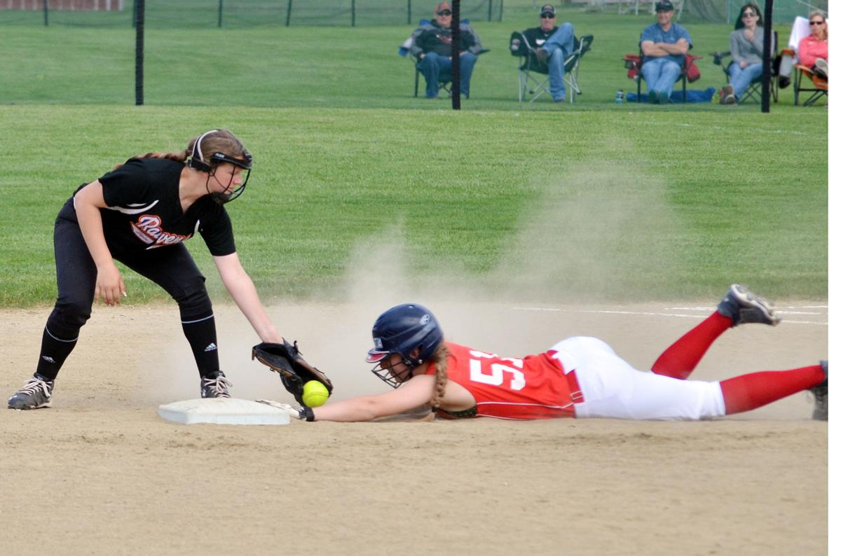 The Lady Pros soar past Ravens for sweep