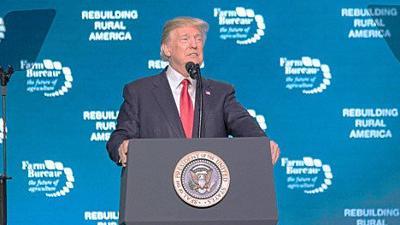 Trump at AFBF convention