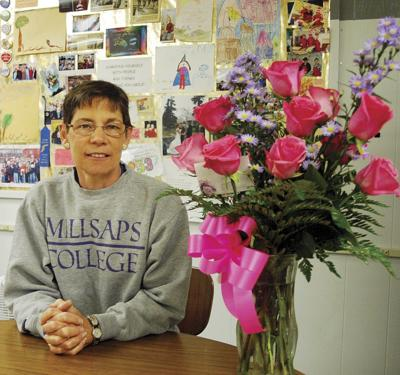 Beal hangs up education 'hats' in Grant District 3