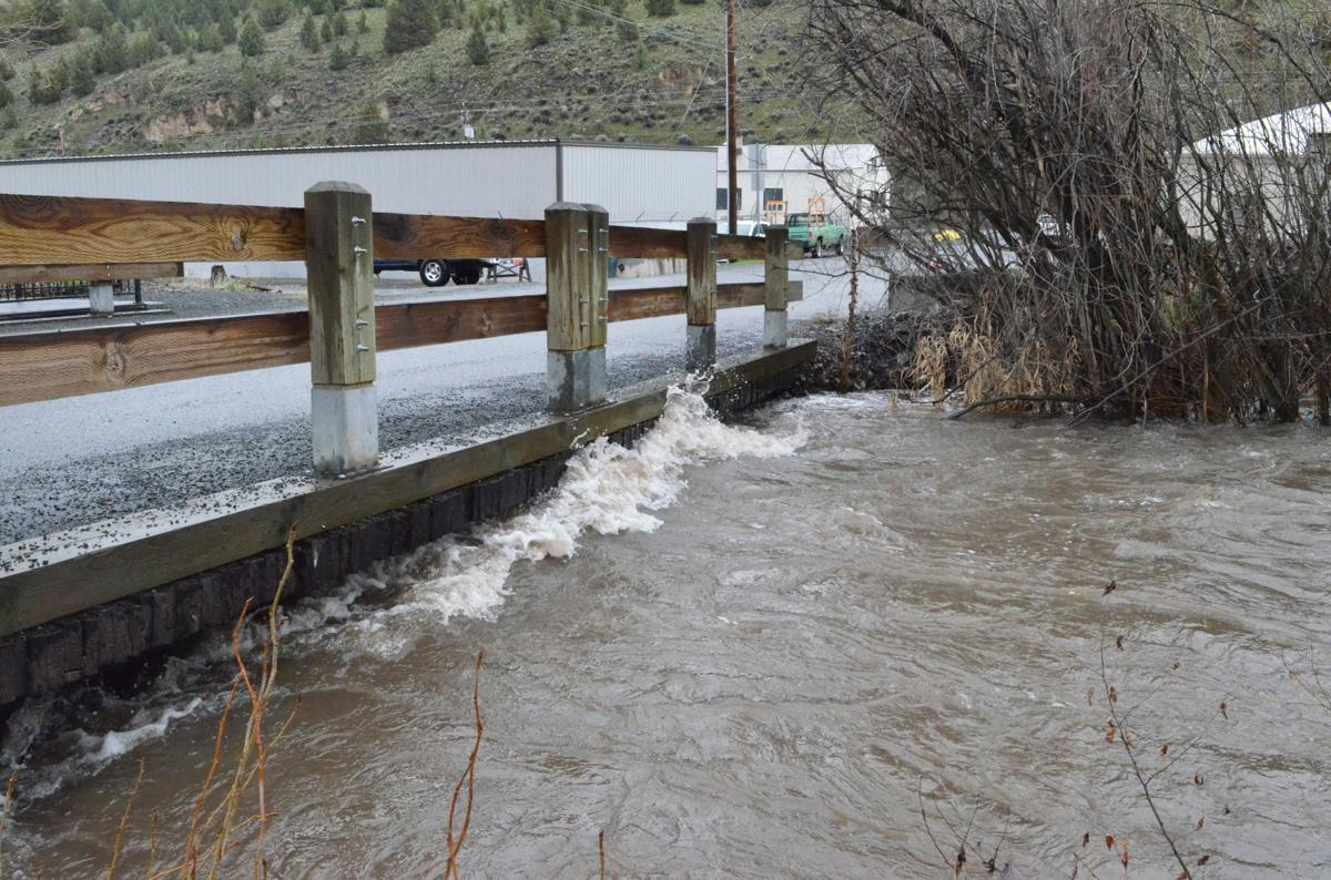 Canyon Creek flood risk
