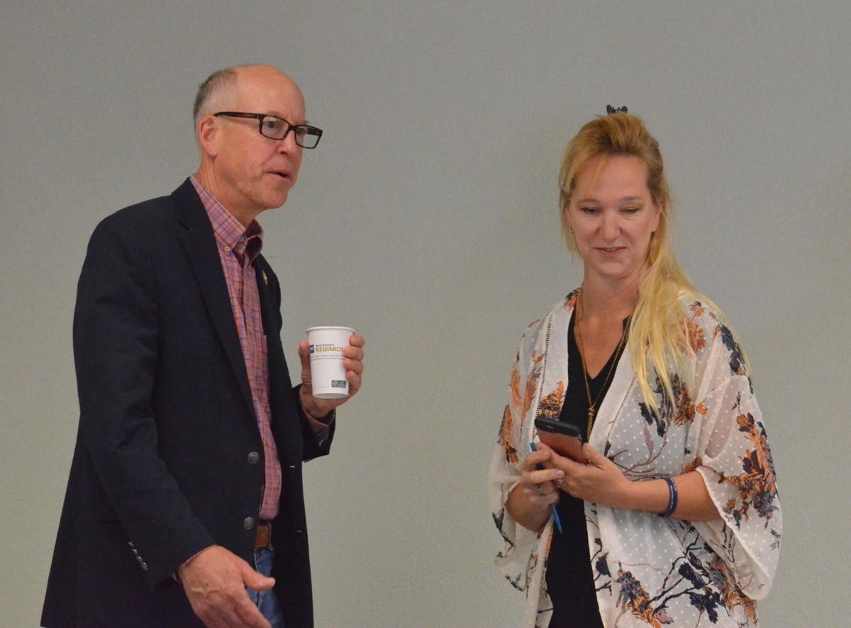 Rep. Greg Walden at Community Counseling Solutions