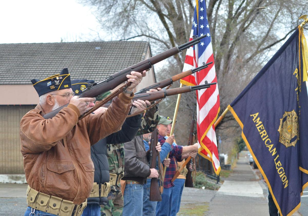 Veterans honored at Prairie City ceremony