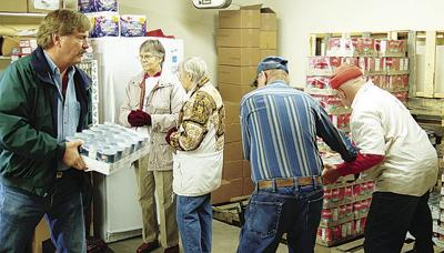 Food bank to distribute one week early