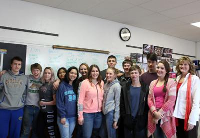 Nurse travels world, inspires Dayville students