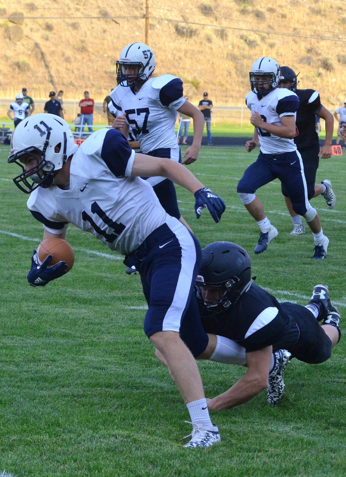 Prospectors fall to defending state champs in home opener