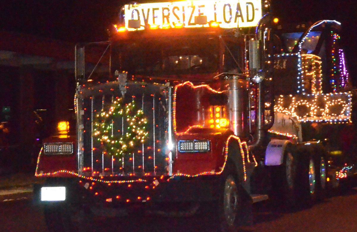Oversize-load truck