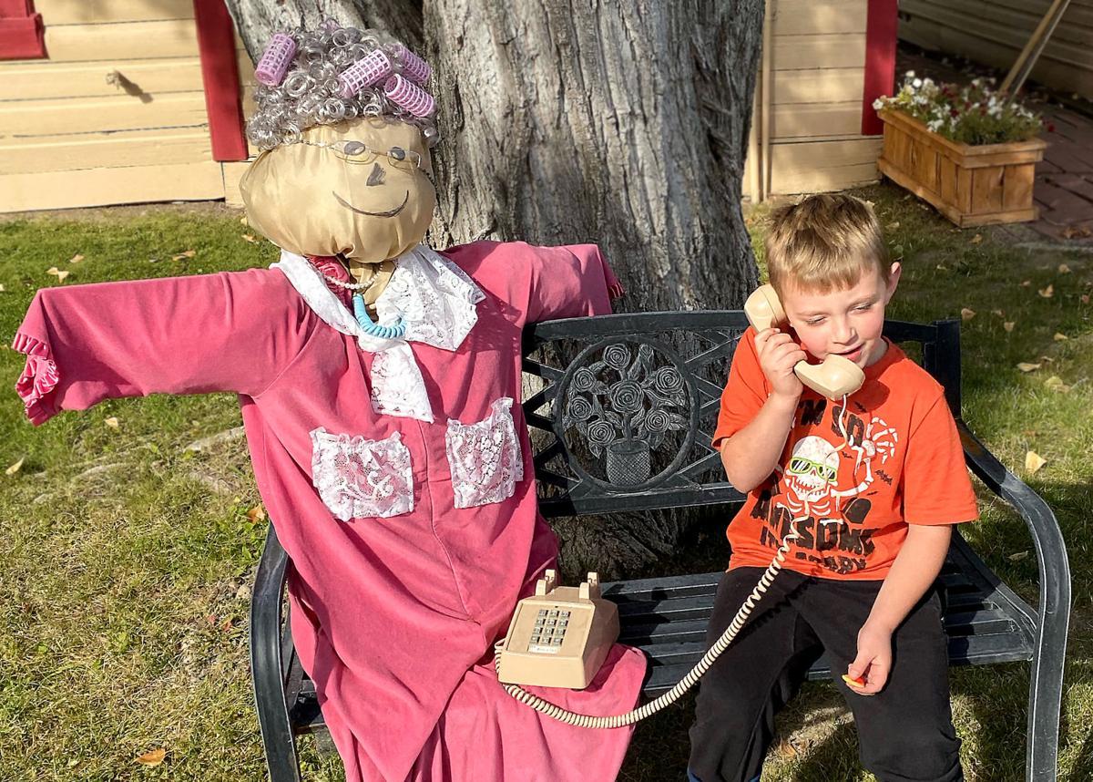 Dayville Scarecrows