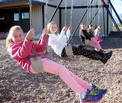 Swinging into school!