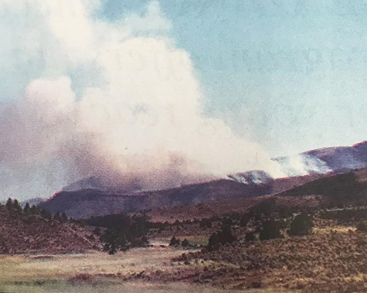 Wind, terrain test fire crews