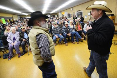 Town hall carries on in John Day