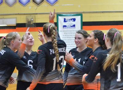 Prairie City netters end season at round one state match