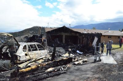 Garage and bedroom totaled in house fire