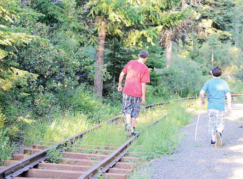 All Aboard! Sumpter railroad trail an easy summer outing
