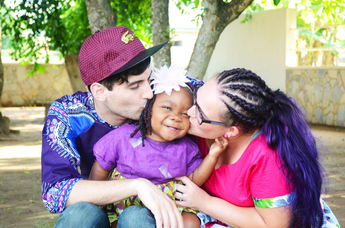 Adoption journey: Couple takes leap of faith to Africa