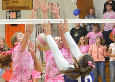 Jordan Valley takes Dig Pink sweep in Dayville