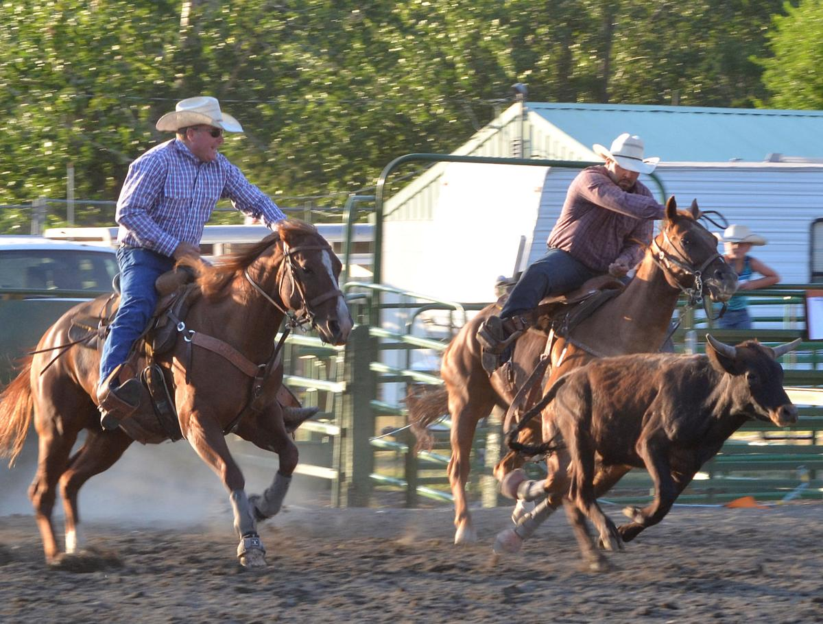 Kickin' up a good time at the NPRA Rodeo