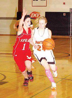 Hoop-la! Prairie girls make history at District