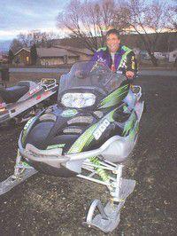 Grant County People: Prairie City man wins snowmobile