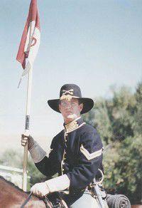 Cavalry saddle draws interest