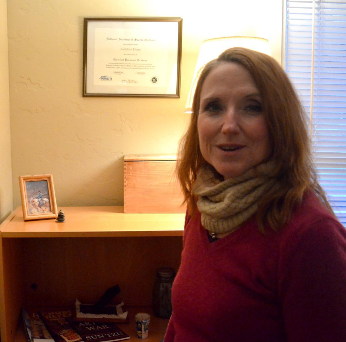 Kati Dunn in her office