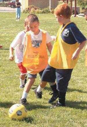 Youth soccer camp stresses fundamentals, fun