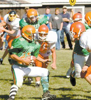 Tigers tussle to 16-8 loss against Spray-Wheeler