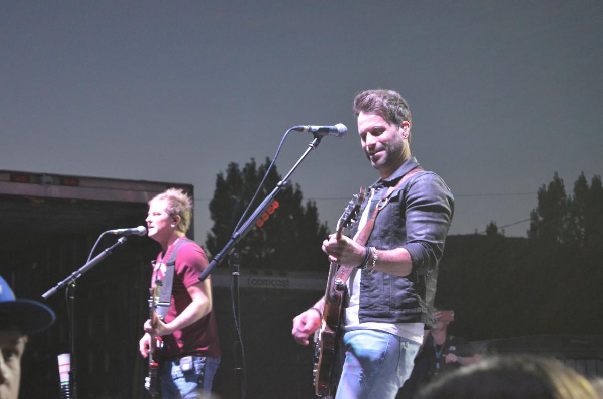 Grant County Fair concert Parmalee