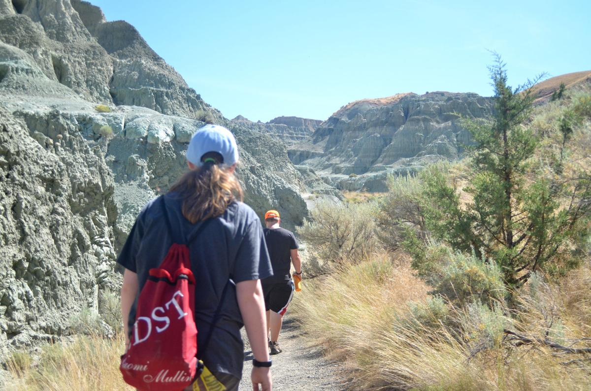 Blue Basin hike holds hidden treasure