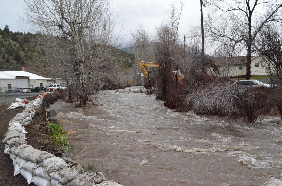 Canyon Creek flood risk