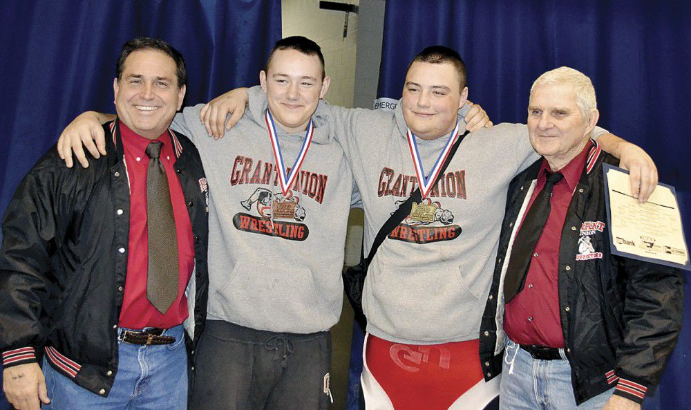 THE CHAMP: Jake Batease takes state wrestling title
