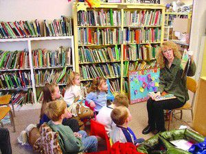 Story time fun at Library