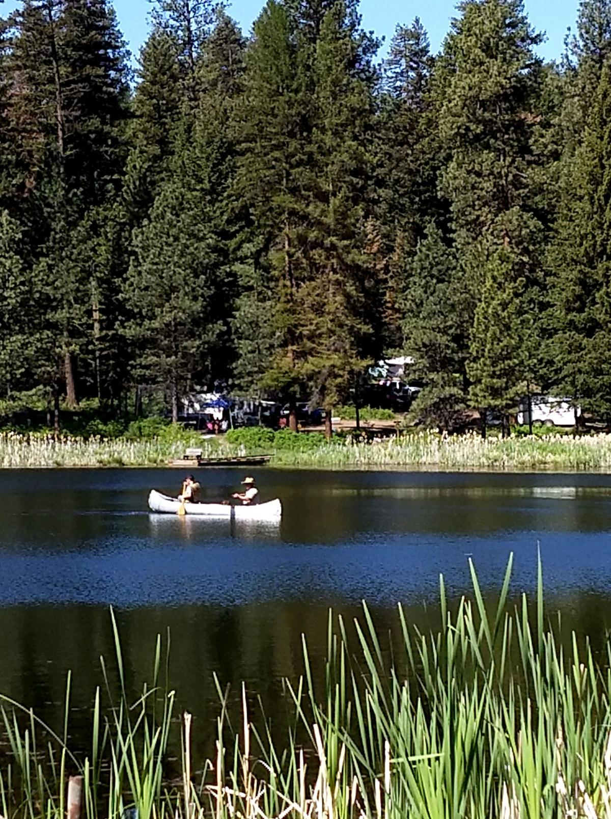 Outdoor activities await at Bull Prairie Lake Campground