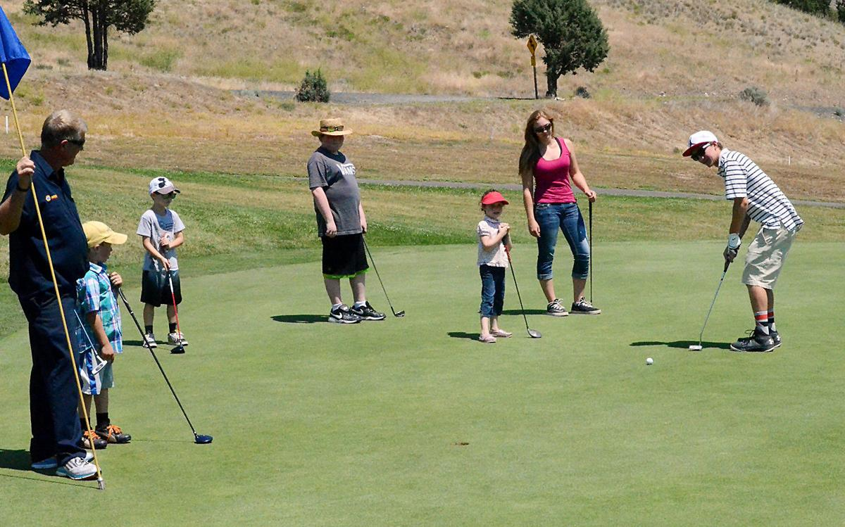 Junior golfers give their best shot