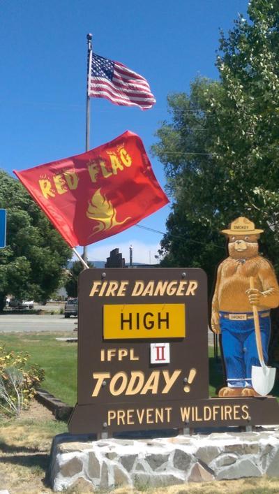 Red Flag Warning issued for Thursday