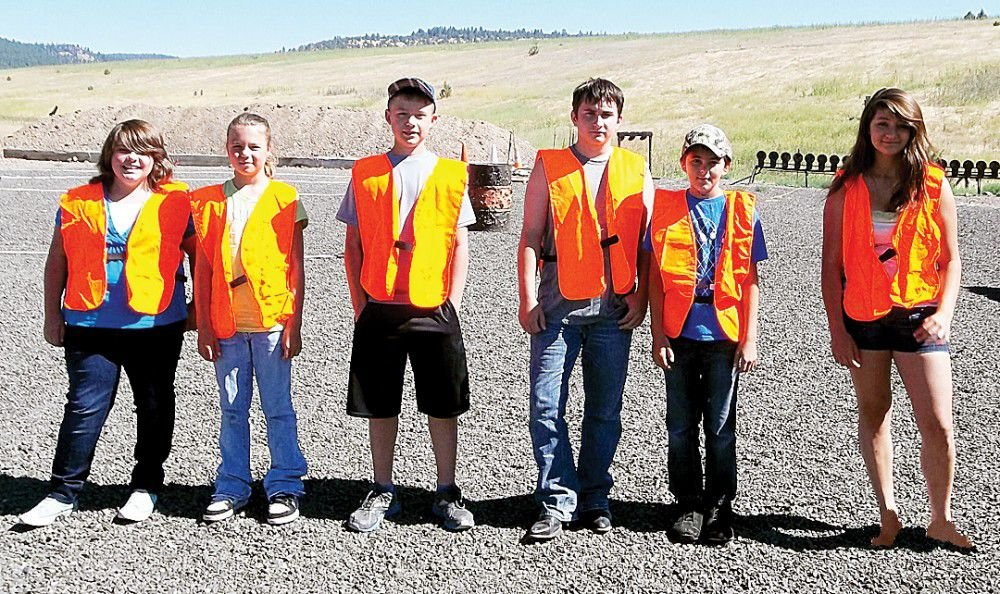 YOUNG HUNTERS SET THEIR SIGHTS