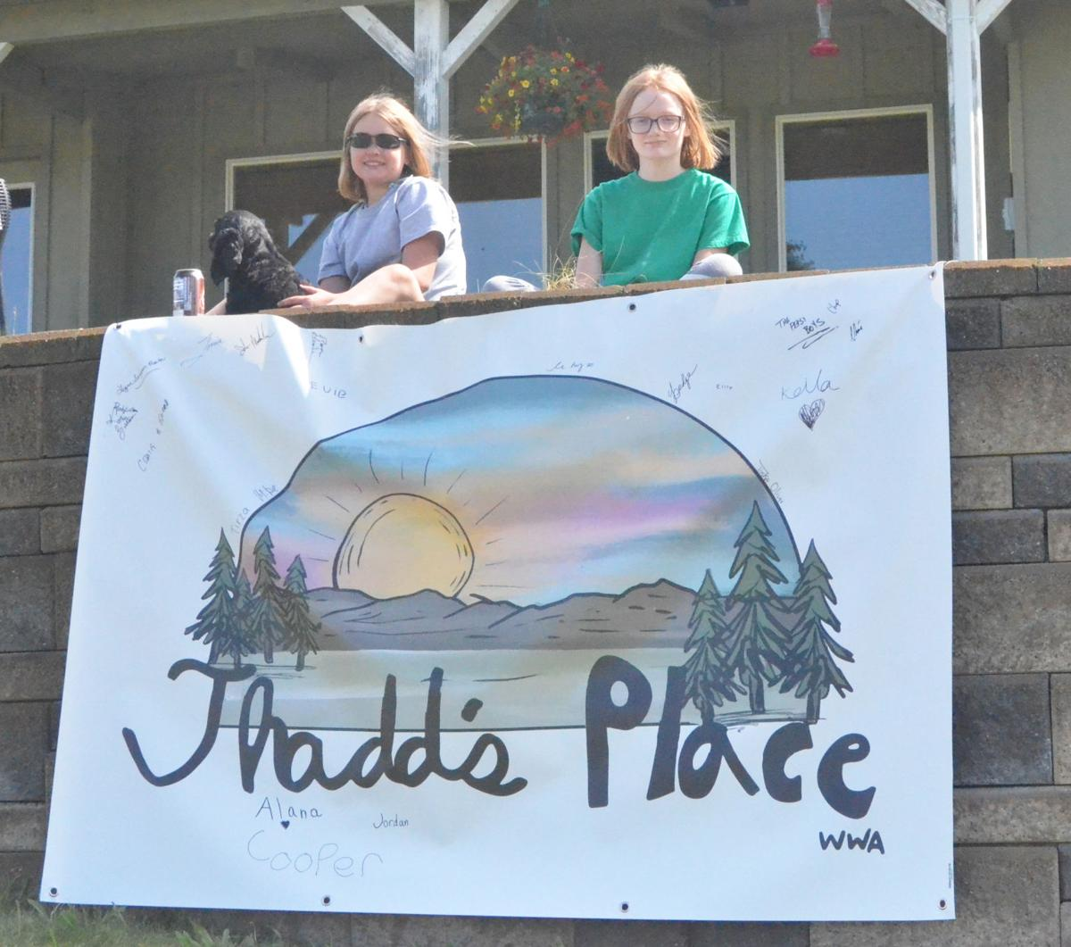 Thadd's Place sign