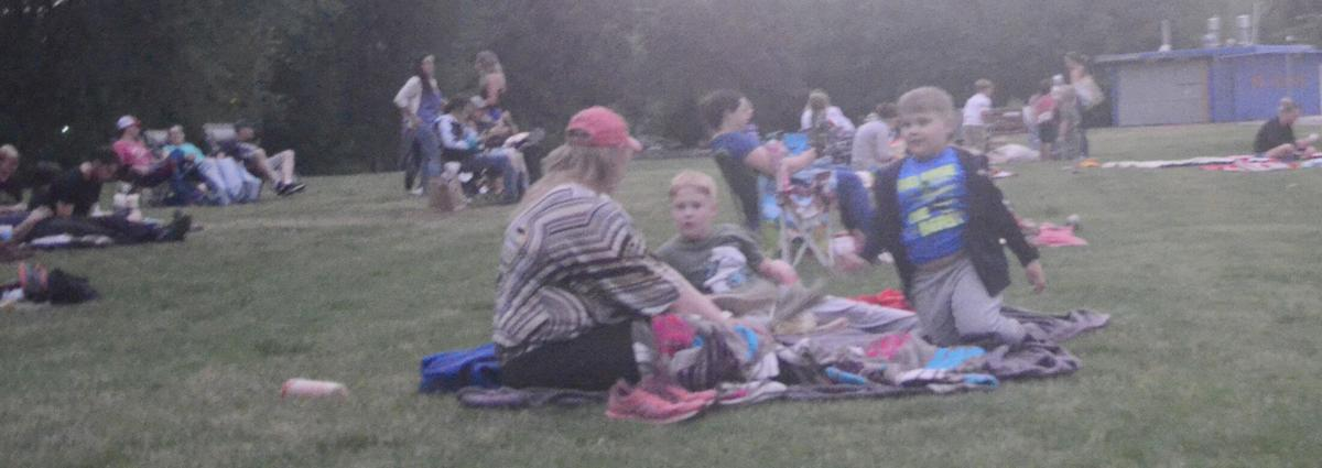 Movie night in the park