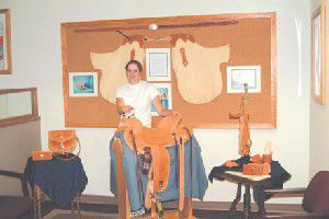 Artist of the month: Clair Mullin Saddlery