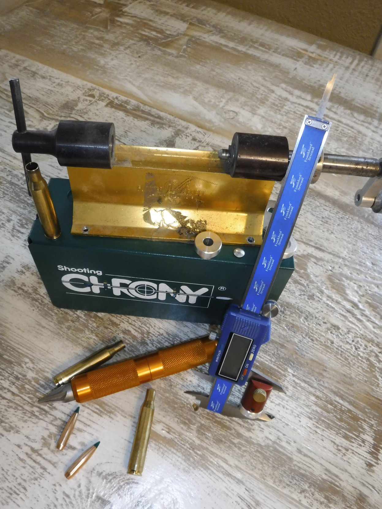 bullet jacket trimming tool