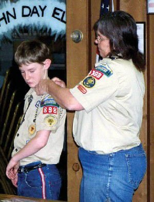 Merit badges received at Court of Honor