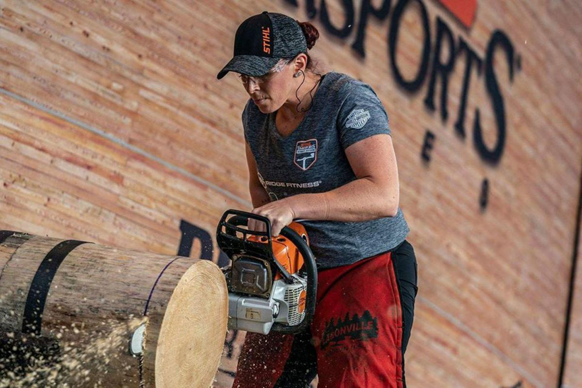 Kate Page - Stihl competition