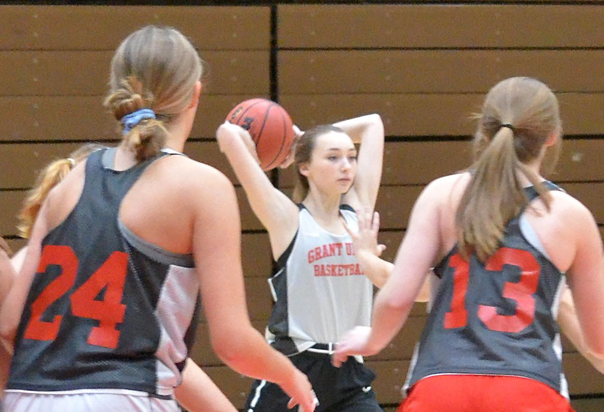 GU girls basketball