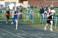 High school track athletes gain traction