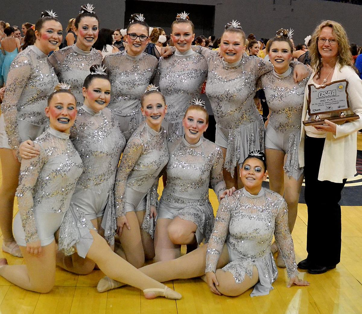 Gold claims 2nd at state