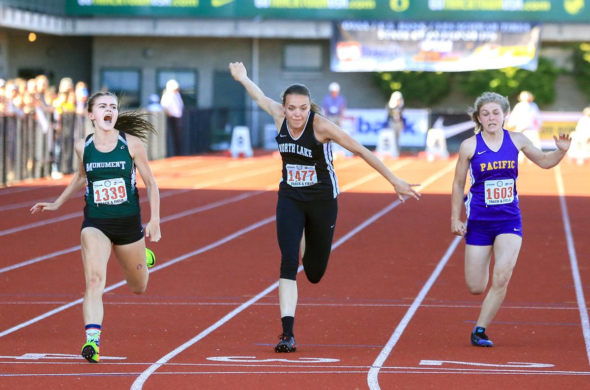 Pettit repeats as 100-meter state champ