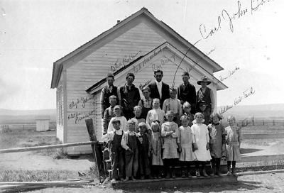 School days in Fox, circa 1914