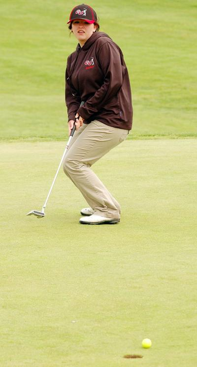GU golfers perform well at district tourney